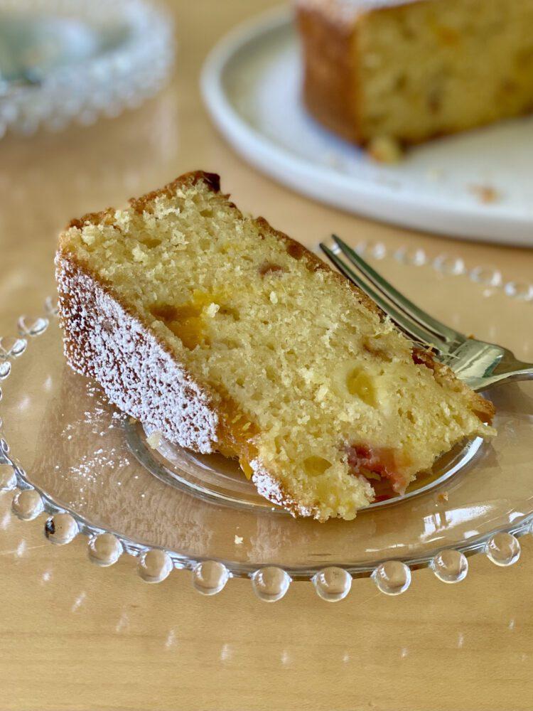 One Bowl Peaches and Cream Cake - Virginia Willis